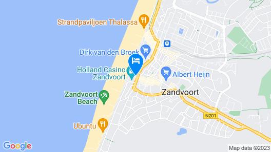 Amsterdam Beach Hotel Map