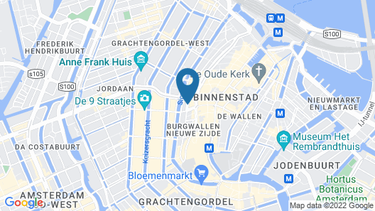 W Amsterdam Map