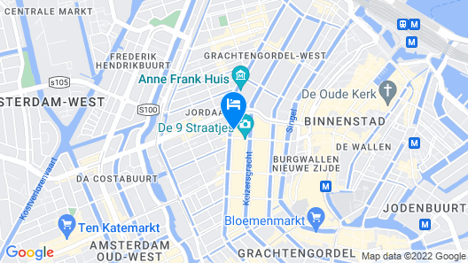Pulitzer Amsterdam Map