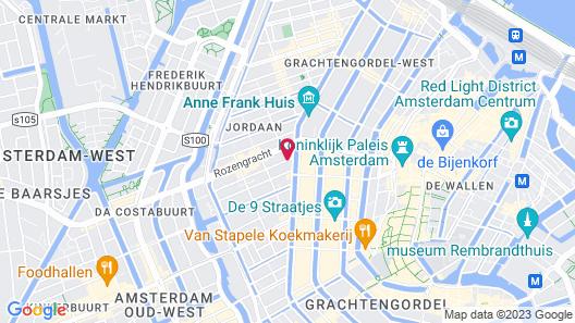 Hotel Mercier Map