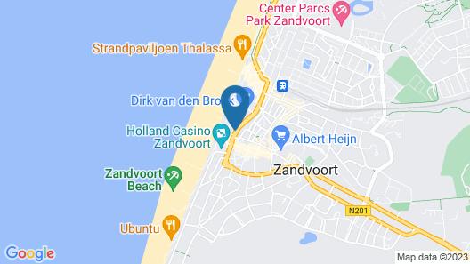 Beach House Zandvoort Map