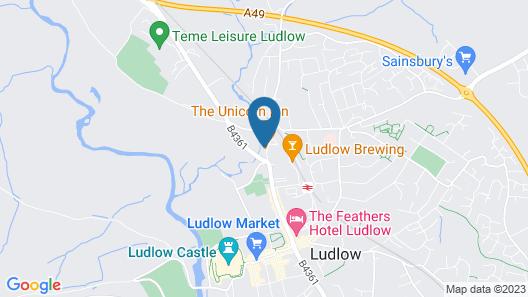 The Unicorn Inn Map