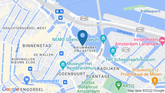 Hotel Library Amsterdam Map