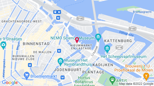 The Hendrick's Hotel Map