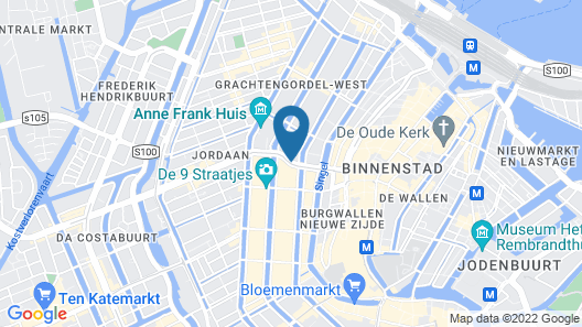 Boutique Hotel La Belle Vue Map