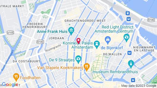 Hotel Clemens Amsterdam Map