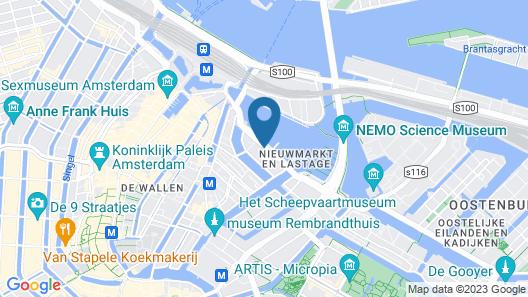 City Hotel Amsterdam Map