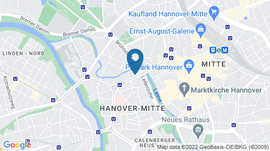 Boutique 030 Hannover City by INA Map
