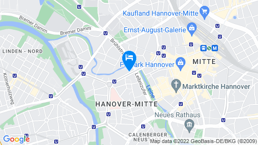 Boutique Hotel 030 Hannover by INA Map