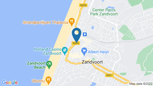 The Sands Hotel Zandvoort Map