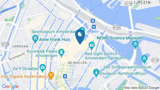 Hotel Ben Map