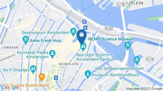Facade Hotel Amsterdam Map