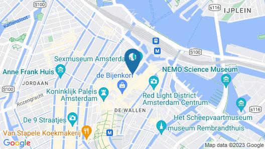 Delta Hotel City Center Map