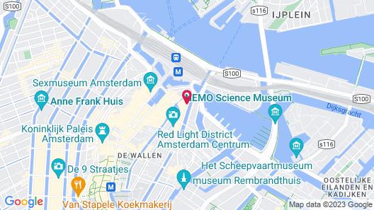 Hotel Mai Amsterdam Map