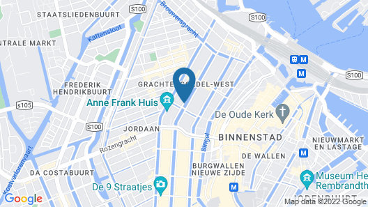 The Pavilions Amsterdam, The Toren Map
