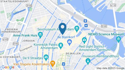 Sunflower Amsterdam Map