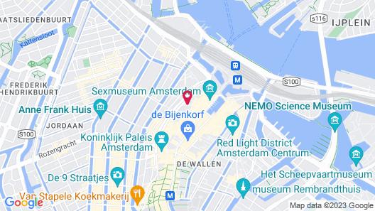 Inntel Hotels Amsterdam Centre Map