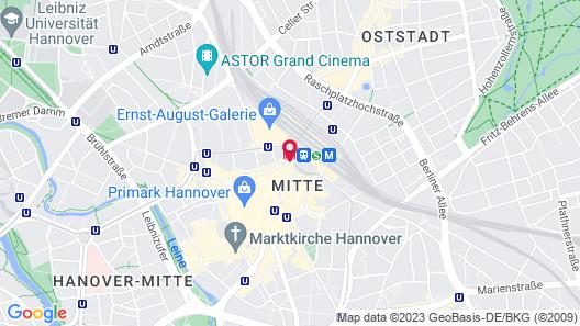 Central-Hotel Kaiserhof Map