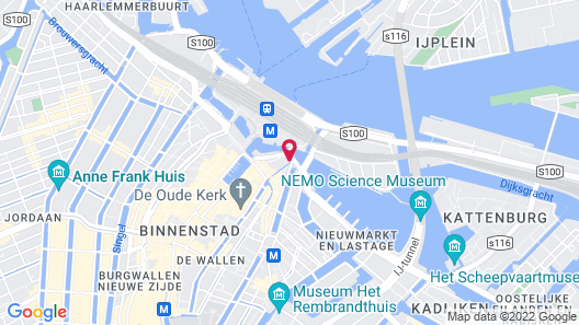 PH93 Amsterdam Central Map