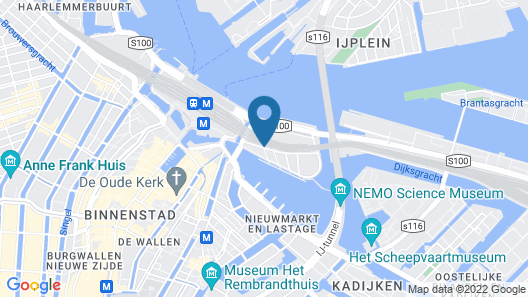 DoubleTree by Hilton Hotel Amsterdam Centraal Station Map