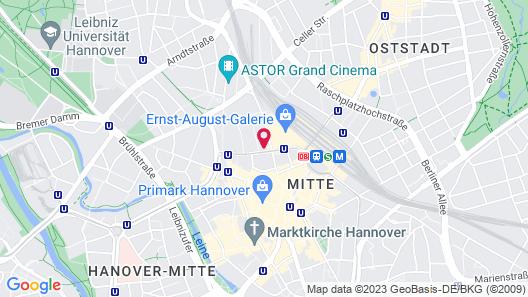 Hotel Loccumer Hof Map