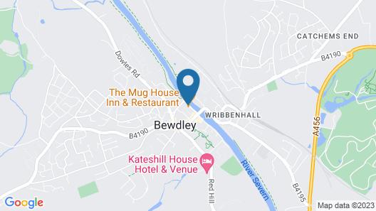 The Mug House Inn & Restaurant Map