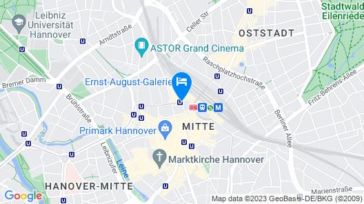 IntercityHotel Hannover Map
