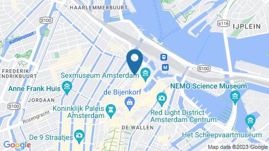 Kimpton De Witt Amsterdam, an IHG Hotel Map
