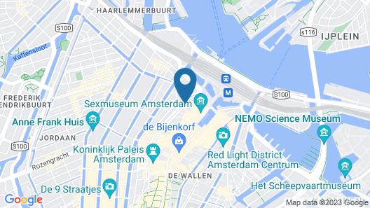Kimpton De Witt Amsterdam Map