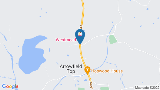 Westmead Hotel Map
