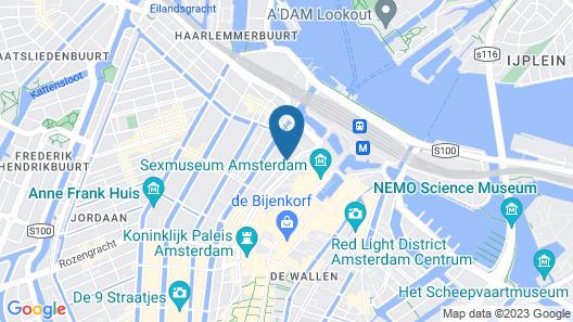 Renaissance Amsterdam Hotel Map