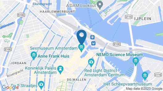 art'otel Amsterdam, part of Radisson Hotel Group Map