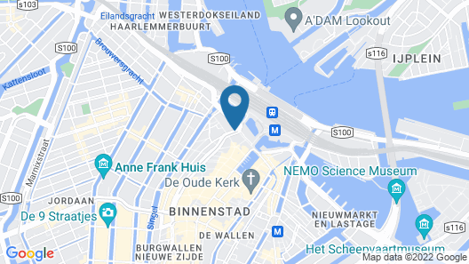 ibis Styles Amsterdam Central Station Map