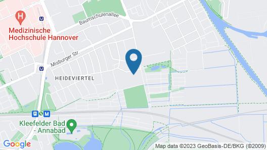 Eilenriedestift Appartements Map