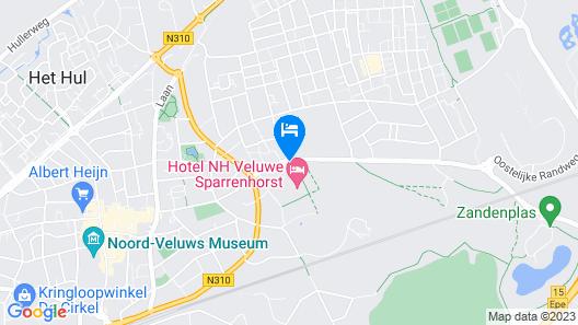 NH Veluwe Sparrenhorst Map