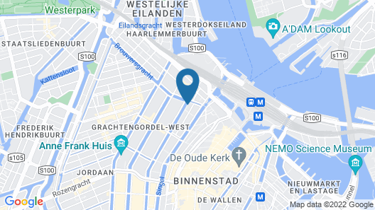Max Brown Hotel Canal District Map