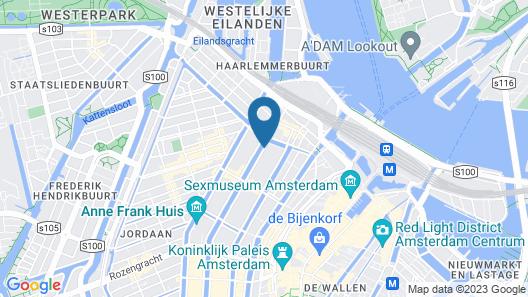 Hotel Sebastian's Map