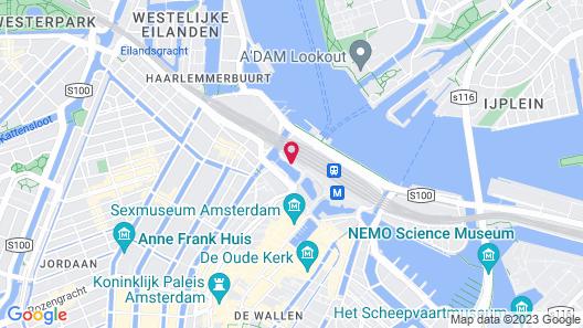 ibis Amsterdam Centre Map
