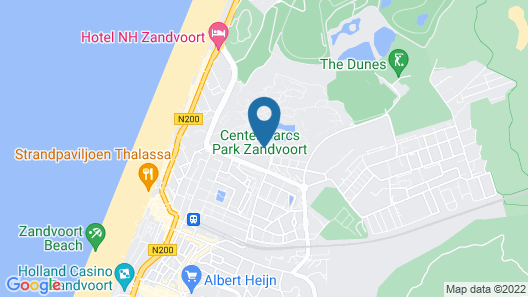Center Parcs Zandvoort Beach Map