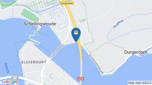 Houseboat Schellingwouderdijk Map