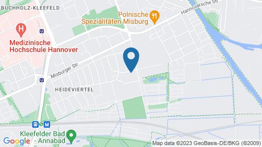 Private Apartment Müdener Weg Map