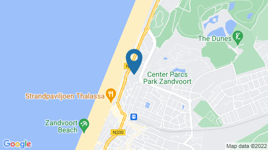 Beach Hotel Zandvoort BY Center Parcs Map