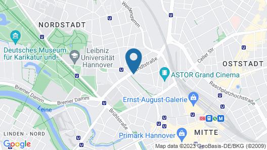 NH Hannover Map