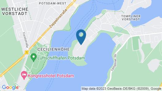 INSELHOTEL Potsdam-Hermannswerder Map