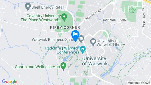 Scarman - Warwick Conferences Map