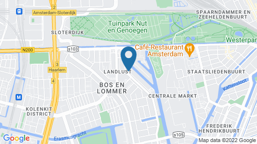 Camp Inn Hotel Amsterdam Map