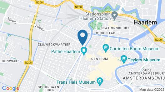the niu Dairy Haarlem Map