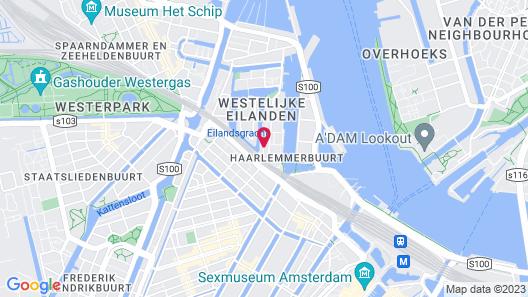 Yays Bickersgracht Concierged Boutique Apartments Map