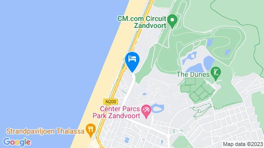 NH Zandvoort Map