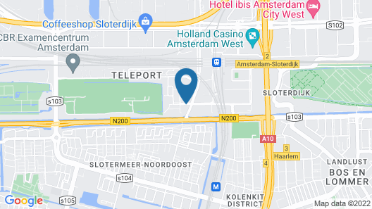 Urban Lodge Hotel Map